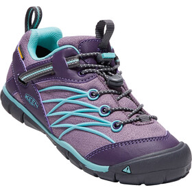 Keen Chandler CNX WP Schuhe Jugend Montana Grape/Aqua Haze